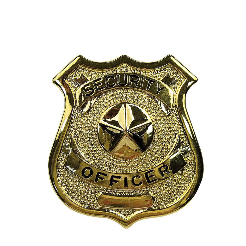 Rothco Badges: Security Officer Badge / Gold
