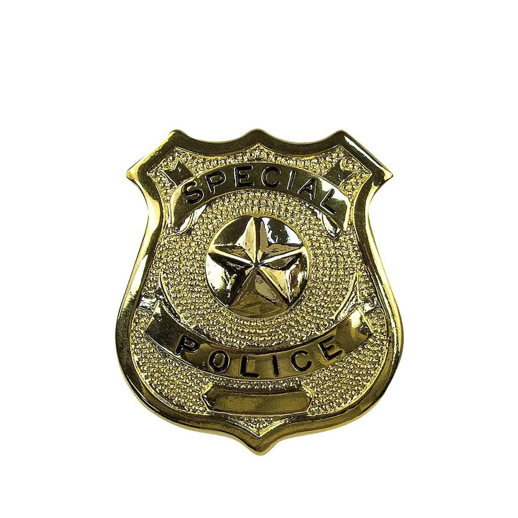Rothco Badges: Special Police Badge / Gold