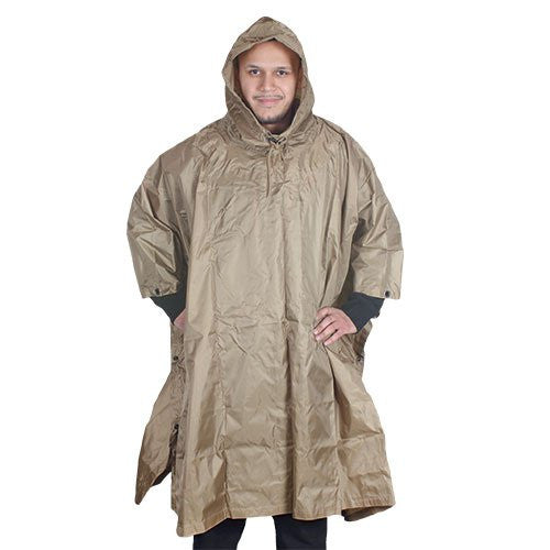 Fox Outdoor Products Ripstop Poncho - Coyote
