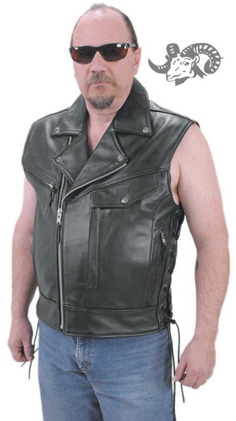 JR Leather: Vest