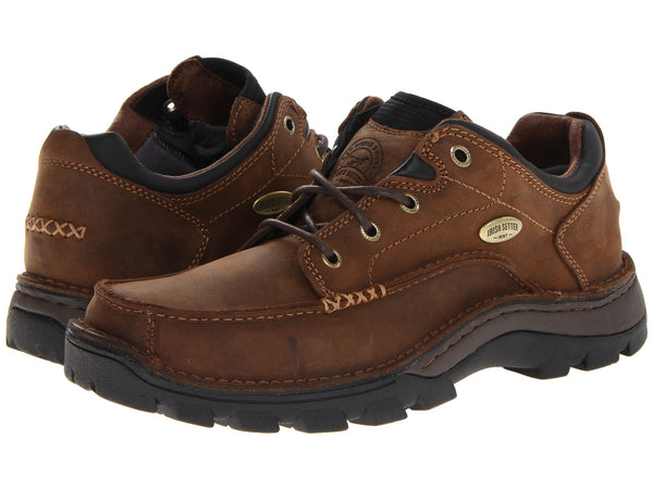 Irish Setter Borderland Oxford Brown Leather
