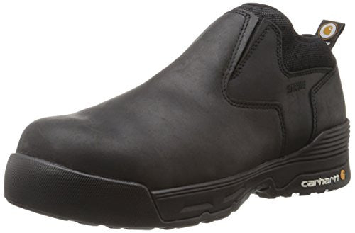 Carhartt Boots: Men's Force 4 inch Slip On - Black