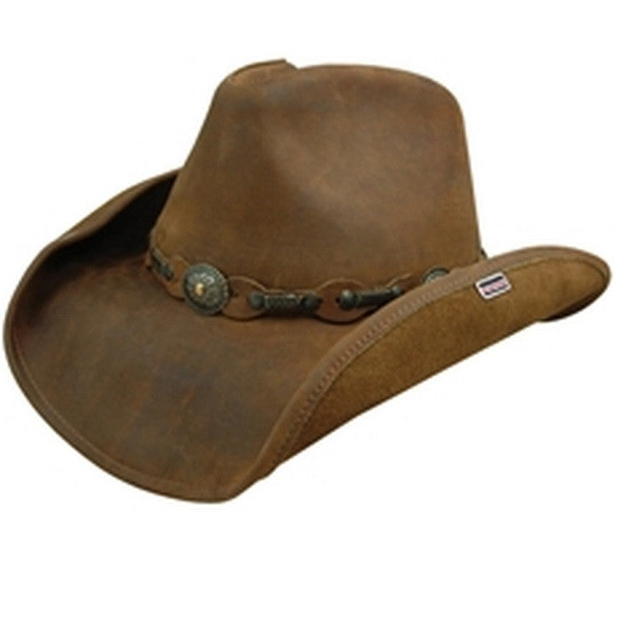 Stetson Roxbury Shapeable Leather Western Hat