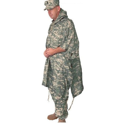 Tru-Spec Rain: GI Spec Military Poncho - Army Digital