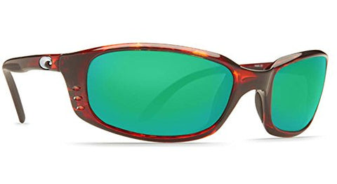 Costa Del Mar Brine Sunglasses, Tortoise, Green Mirror