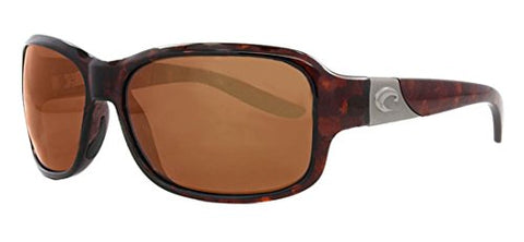 Costa Del Mar Costa Inlet Polarized Sunglasses - Costa 580 Polycarbonate Lens