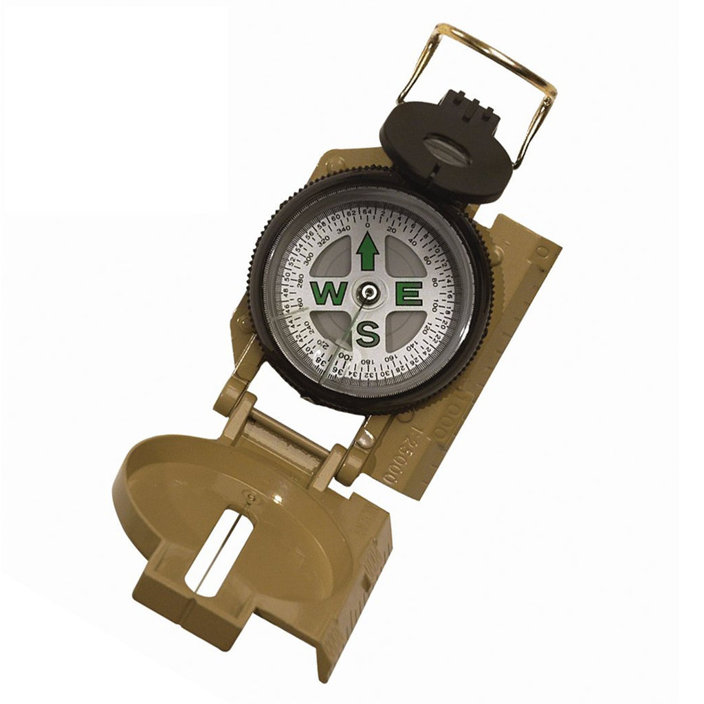 Rothco Compass: Military Marching Compass Tan