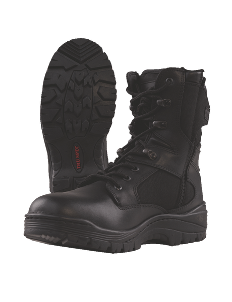 "Tru-Spec Zipper Tactical 9"" Boot"