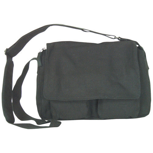 Fox Bags: Departure Shoulder Bag Black