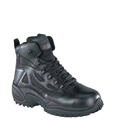 "Reebok Men's 6"" Rapid Response Rb Composite Toe Combat Boot Black"