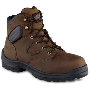 "Red Wing Boots: 6"" Non-Metallic Toe Internal Metatarsal Guard Boot - 4421"