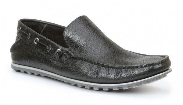 Giorgio Brutini: Trayce-Black Slip on - Black