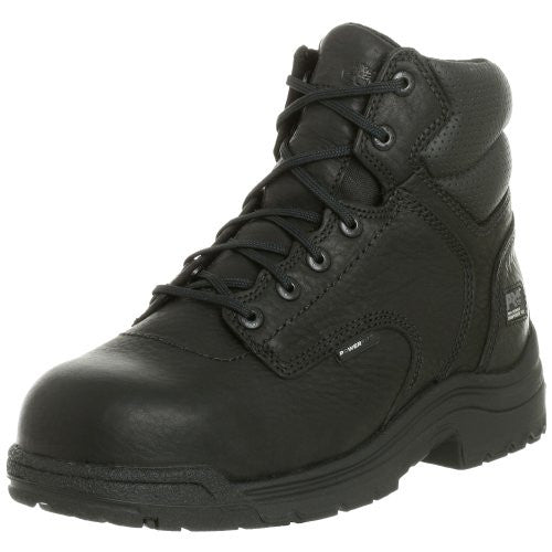 "Timberland Titan 6"" Composite Toe Work Boot Black"