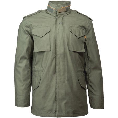 Black Ultra Force M-65 Field Jacket