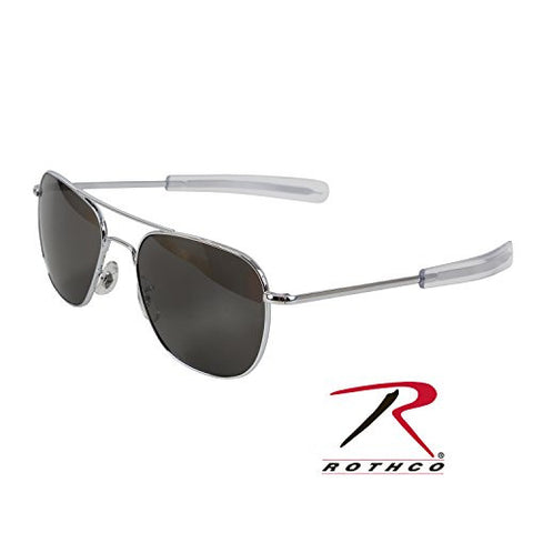 American Optical Original Pilot Eyewear - Silver