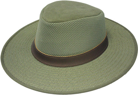 Henschel Crushable Breezer - Khaki and Olive