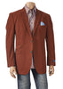 INSERCH BLAZER WITH CONTRAST ELBOW PATCH 532-31 Burgundy