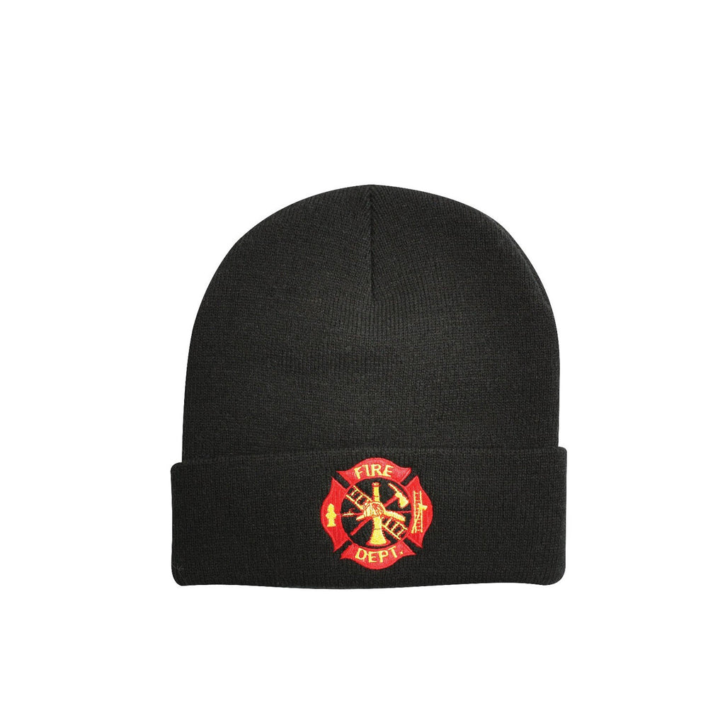 Rothco Hats: Deluxe Fire Deptartment Embroidered Watch Cap