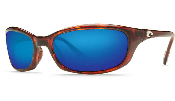 Costa Del Mar Harpoon Tortoise Blue Mirror 580P