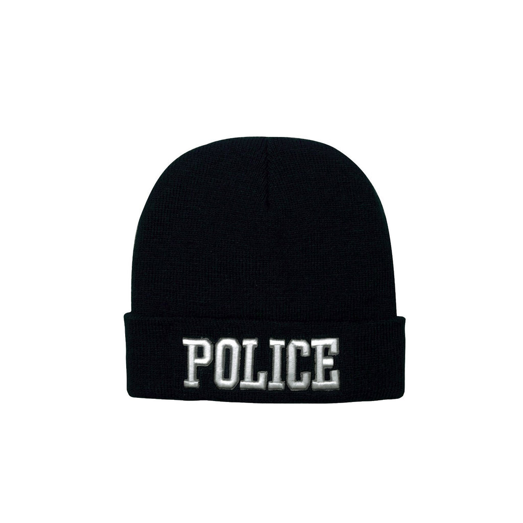 Rothco Hats: Deluxe Embroidered Watch Cap - Police