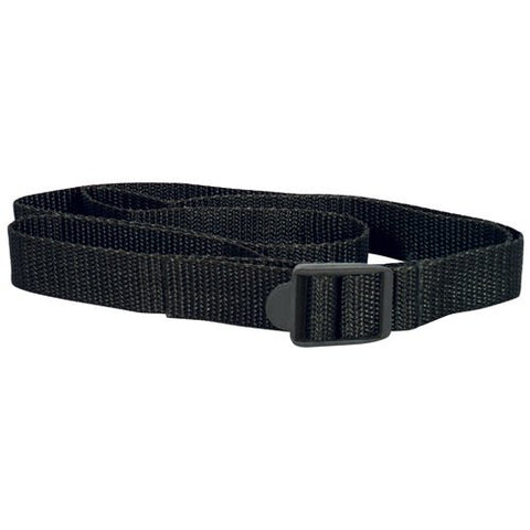 Fox Strap: Black Sleeping Bag Strap -  Black