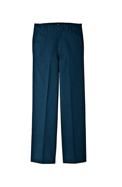 Dickies Pants: Boys' Classic Fit Straight Leg Flat Front Pant