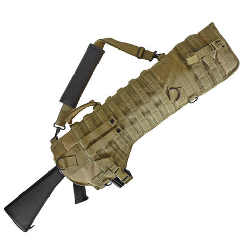 Fox Case: Tactical Assault Rifle Scabbard Coyote