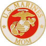 "PINS- USMC Marine Core LOGO, MOM (15/16"")"