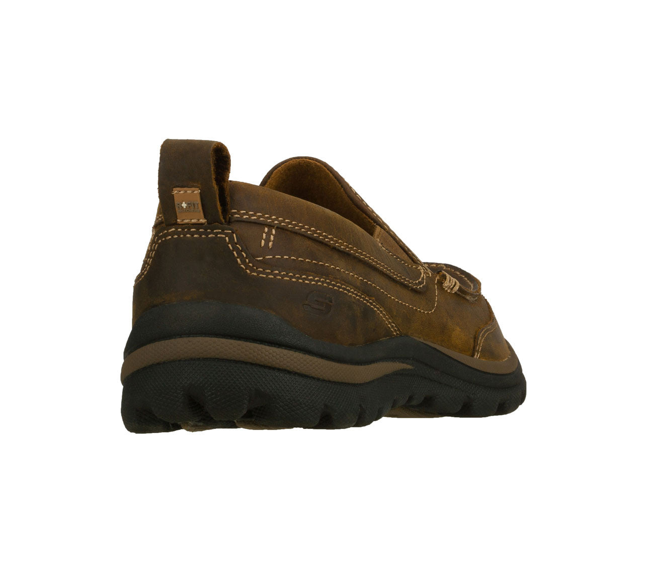 a89f8d3f303a Skechers Mens Relaxed Fit  Superior - Gains Brown – Army Navy Now