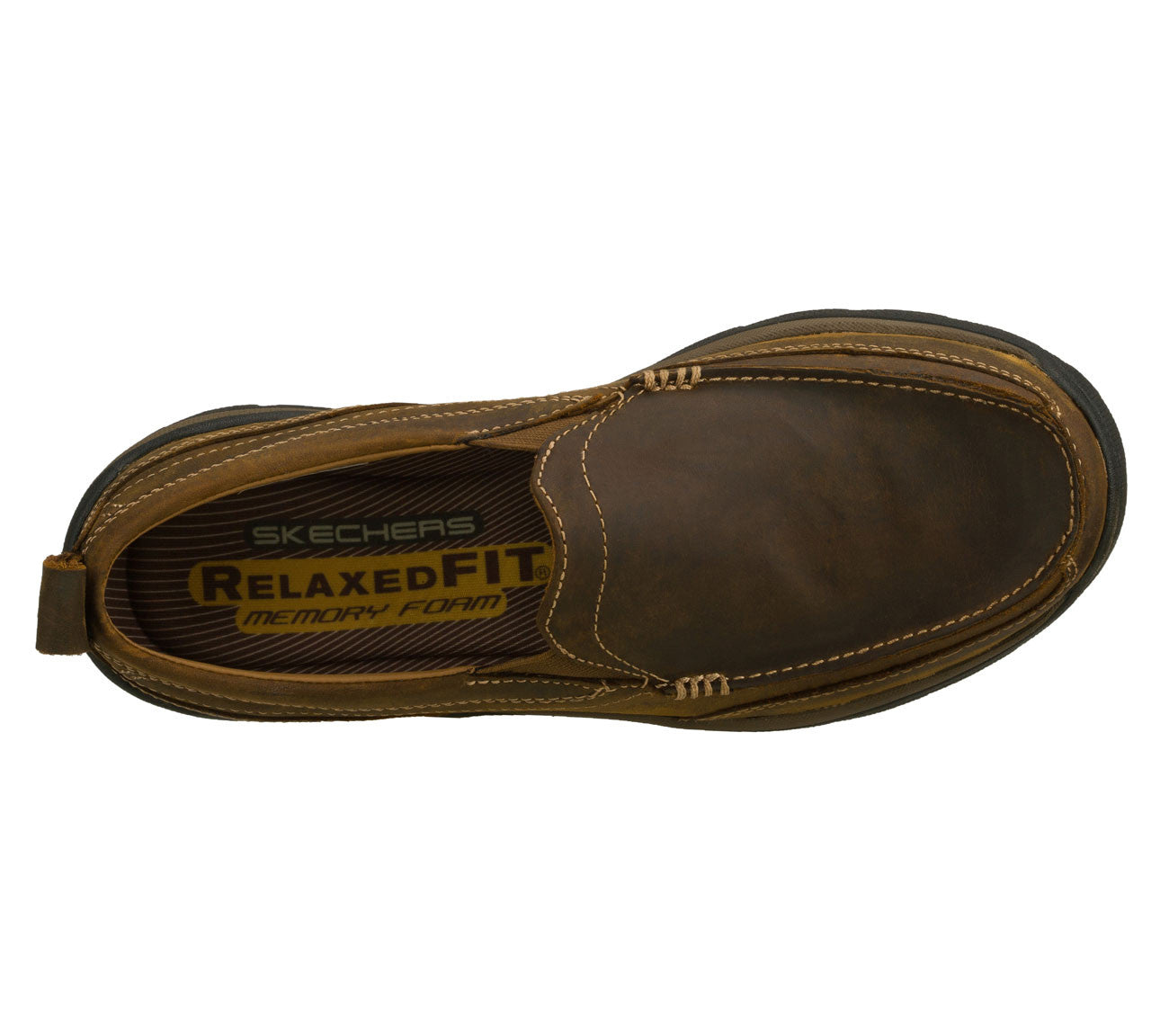6399bfc8e221b7 Skechers Mens Relaxed Fit: Superior - Gains Brown – Army Navy Now