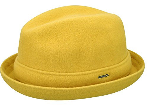 ebe0eb011b1aa Kangol Men s Wool Player Cap - Moutarde – Army Navy Now