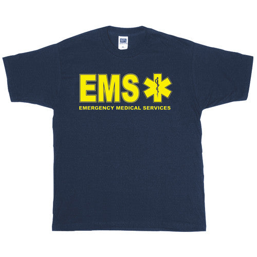 Fox Shirts: EMS Two-Sided Imprinted T-Shirt