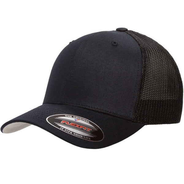 Flexfit: Trucker 6511 Black