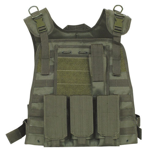Fox Vests: Module Plate Carrier Vest Olive Drab