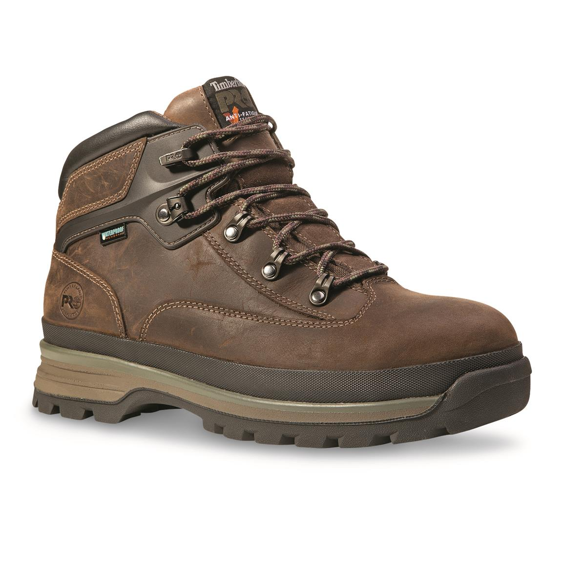d17021de3e0 Timberland PRO Men's Euro Hiker Alloy Toe Work Boot – Army Navy Now