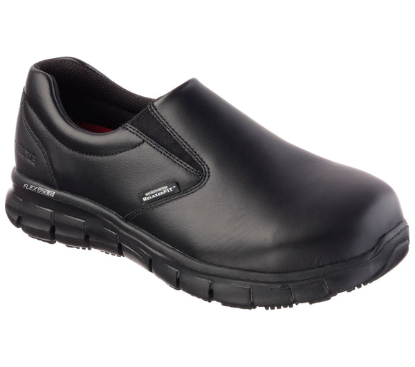 Skechers Womens Work: Relaxed Fit: Sure Track - Vonn Steel Toe