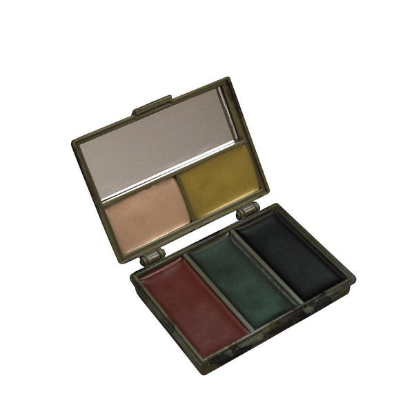 Rothco Paint: Five-color Bark Camouflage Face Paint Compact
