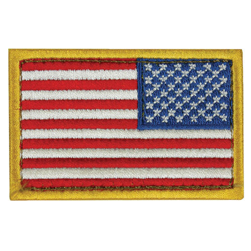Fox Patches: USA Flag Right Face