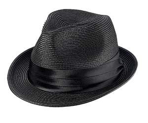 Broner: Fedora Poly Braid Black