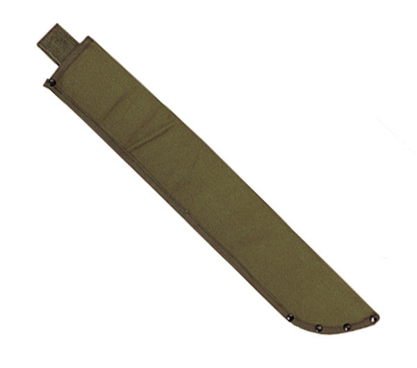 Rothco Sheaths: Canvas Machete Sheath O.D.