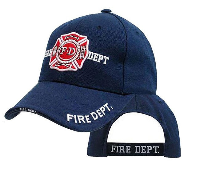 afb78d55f0f Rothco Hats  Fire Department Cap - Navy – Army Navy Now