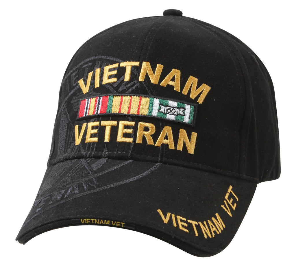 Rothco Hats: Deluxe Vietnam Veteran Military Low Profile Shadow Caps