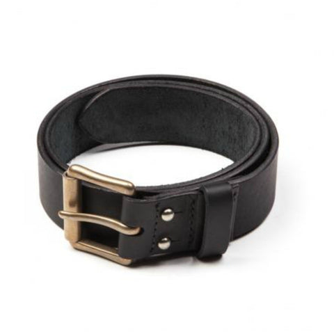 "Red Wing Belts: 1.5"" Distressed Belt Black Oil Tanned"