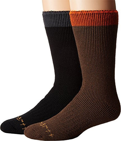 Carhartt Men's 2 Pack Thermal Crew - Brown