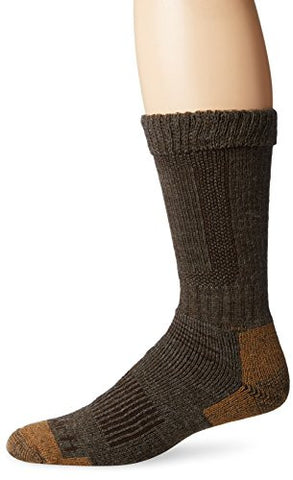 Carhartt Men's Comfort Stretch Steel Toe Socks - Brown