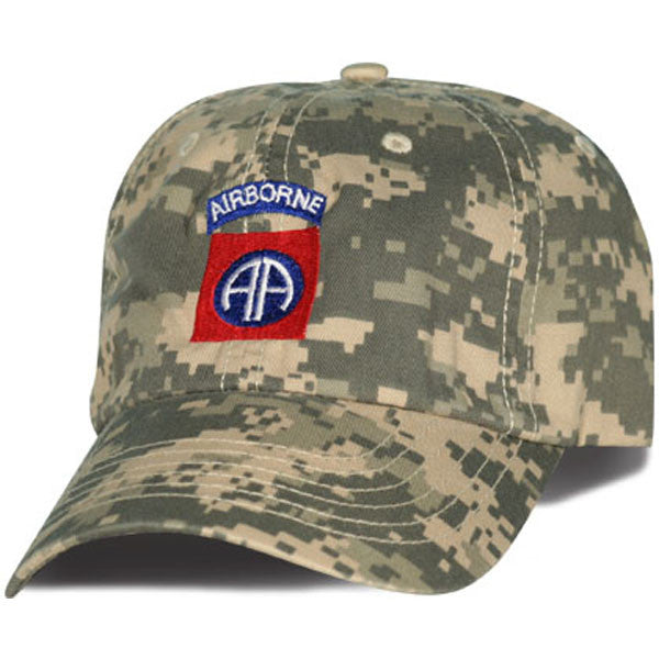 MP Hats: 82d Airborne Direct Embroidered ACU Ball Cap