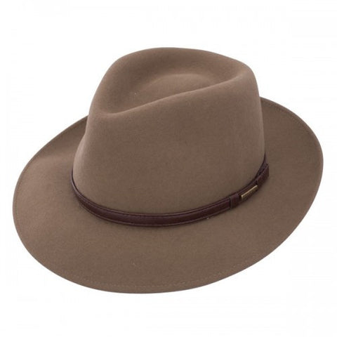 Stetson Cruiser - Crushable Wool Fedora Hat