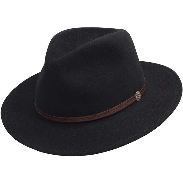 Stetson Cromwell Downturn Hat Black