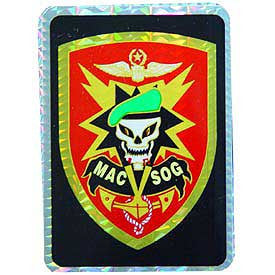 "STICKER: SPECIAL FORCES MACV (3""X4"")"