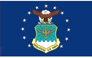 Flags: USAF 3′ x 5′ Flag